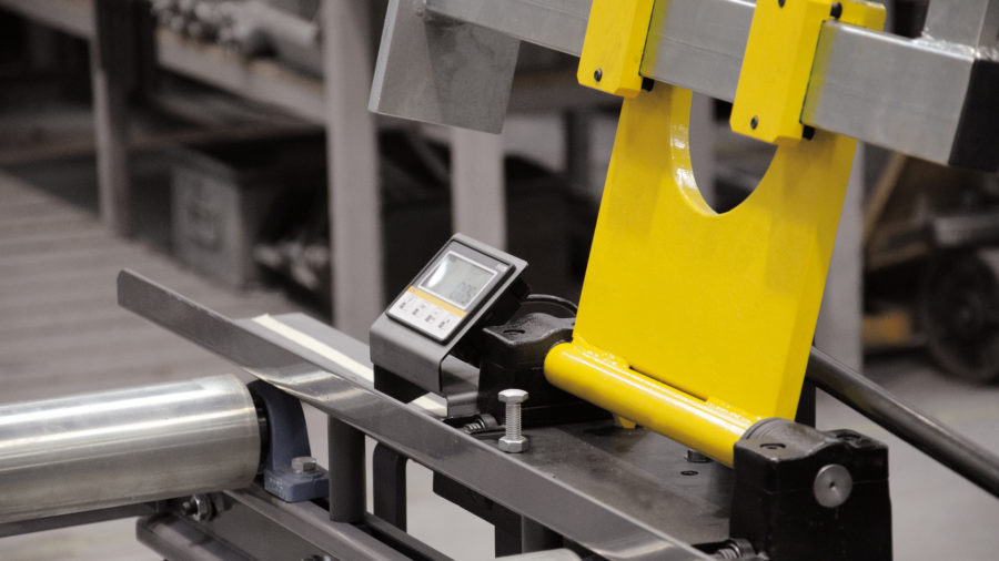 Manueller Materialanschlag mit Digitalanzeige (XRA) Image